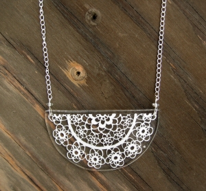 Abelina Lace Necklace